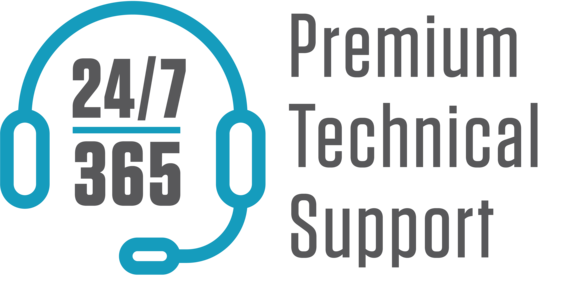 A tech support logo.