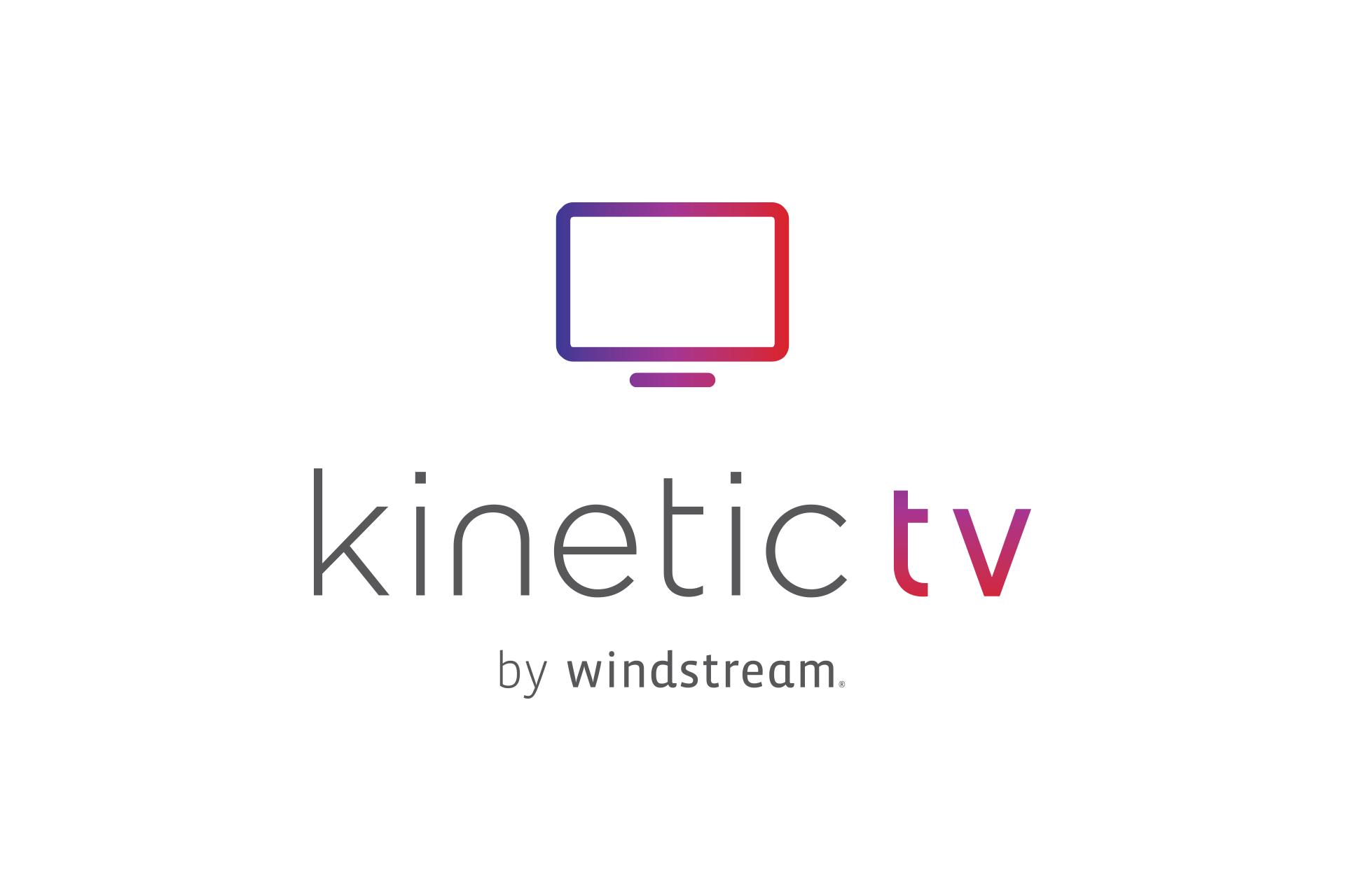 Kinetic tv by windstream logo.
