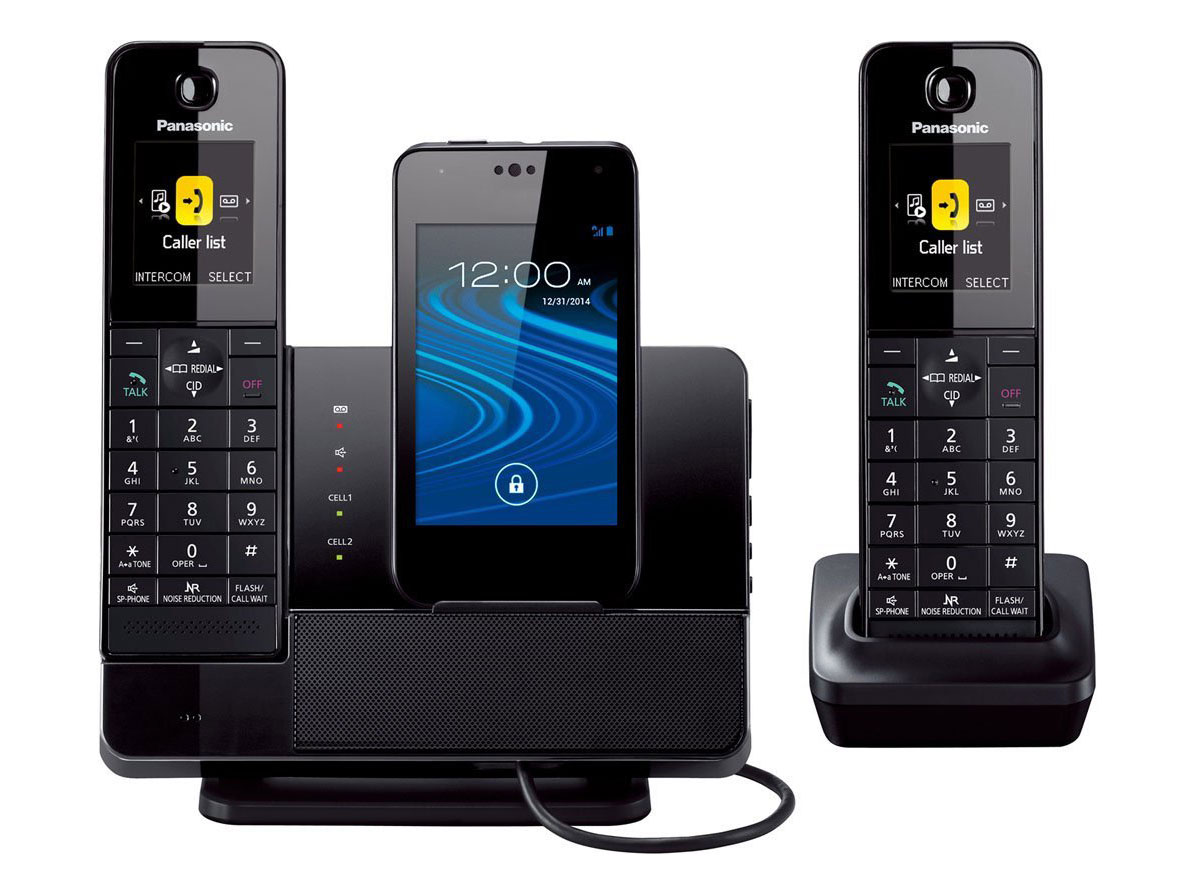 Panasonic 2 Handset Link2Cell Digital Answering System